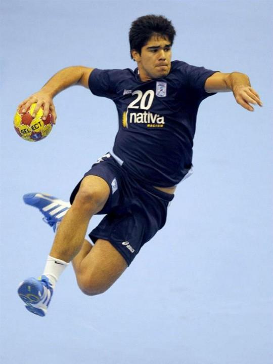 Pablo Simonet, imagen gentileza del Handballspain2013.com