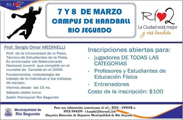 Campus Río Segundo.